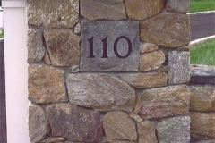 Customized House Numbering