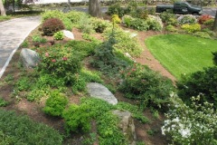 Boulder Placement and Low Maintenance Planting