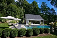 Relaxing made easy with this pool planting.