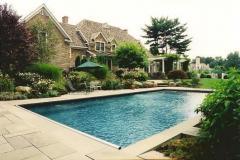 Created Poolside Oasis for Family Fun